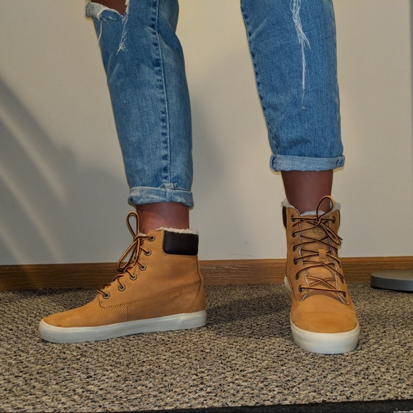 timberland flannery